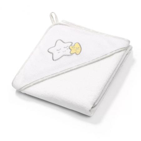 Okrycie kąpielowe frotte – ręcznik z kapturkiem 100 x 100 cm