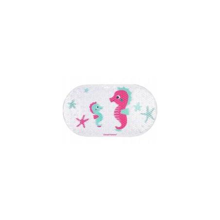 Canpol babies mata do kąpieli 69x38cm LOVE&SEA różowa